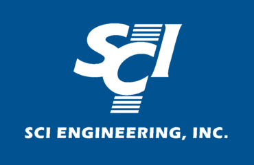 SCI Engineering Logo on Blue