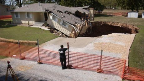 Sinkhole Collapse Analysis